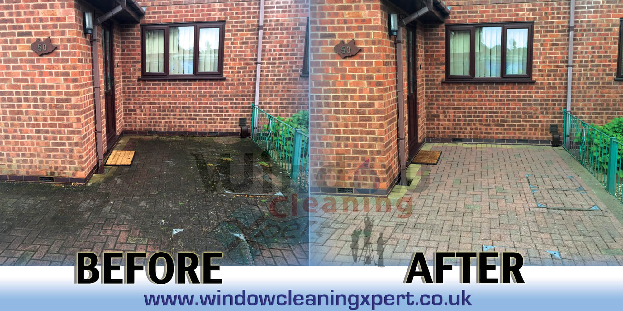 block paving cleaning leicestershire