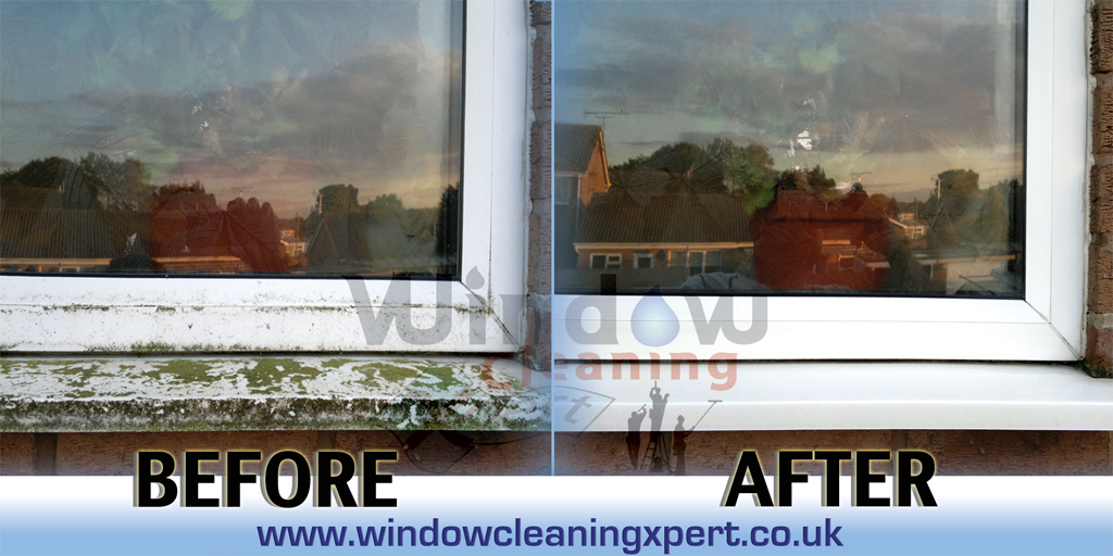 commercial window cleaning leicester