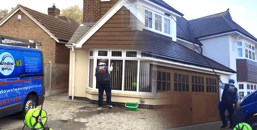 domestic window cleaner