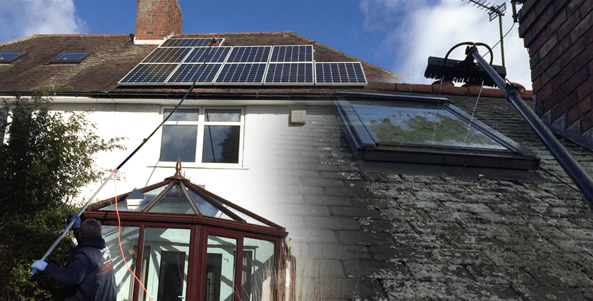 solarpanel clean and loft windows cleaning