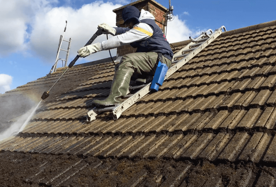 roof cleaning leicester
