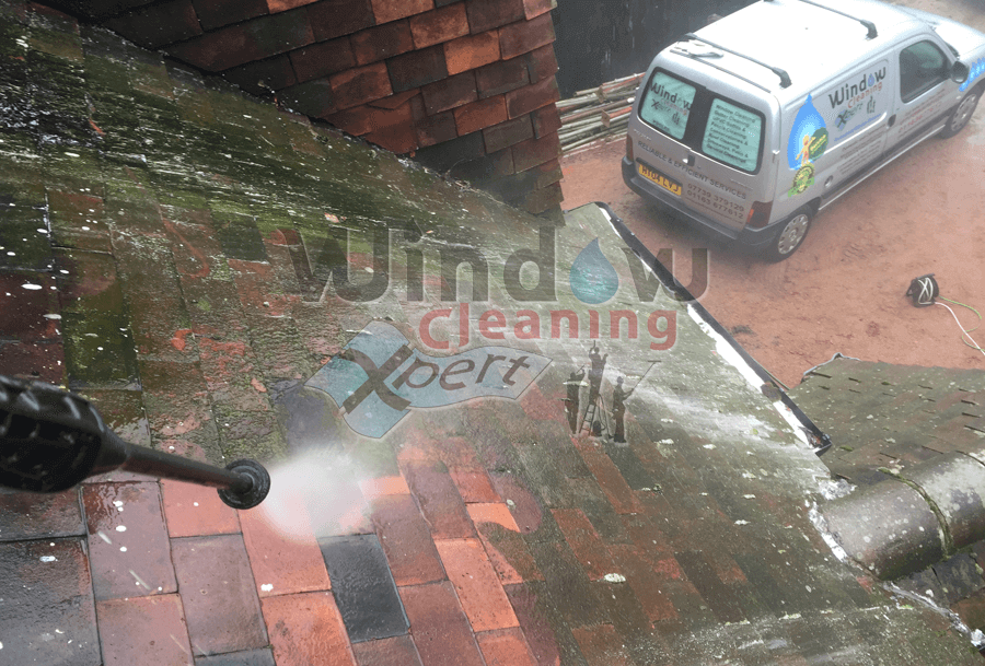 roof tile cleaning leicester